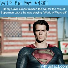 Henry Cavill almost missed the opportunity to be Superman - WTF fun facts