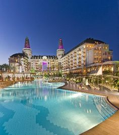 Antalya, Turkey - Delphin Diva Premeire all-inclusive resort