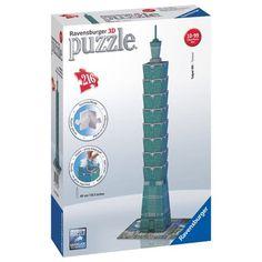 "Ravensburger ""Taipei Tower Building"" Shaped Jigsaw Puzzle Set is on Rue. Shop it now."