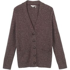 Claudie Pierlot Maxypunk knitted cardigan (185 CAD) ❤ liked on ...