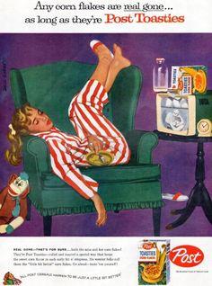 Post Toasties ad, 1957
