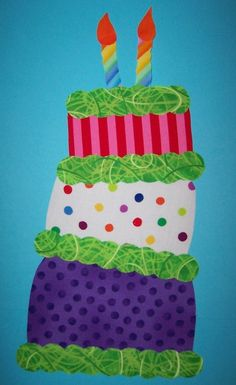 Fabric Applique TEMPLATE ONLY Crazy Cake by etsykim on Etsy,