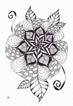 original+art++ALOHA++Mandala+hand+drawn+by+nzjo+on+Etsy,+$35.00
