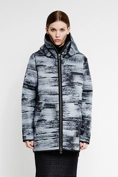 High Collar Hooded Jacket by Bibi Chemnitz new in #WeAreSelecters Stores #Unisex style
