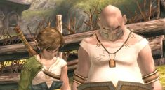 One of the funniest parts of Twilight Princess: Link and the Mayor (Ilia's dad) getting scolded by Ilia. (gif)