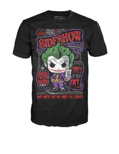 Pop! Tees: DC - Joker Sideshow
