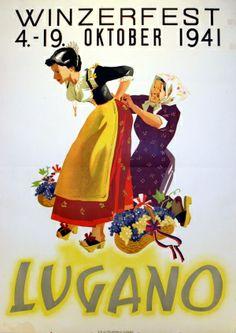 Winzerfest Lugano - 1941
