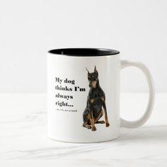 Funny Doberman v Wife Mug blue doberman puppy, black doberman, doberman love #dobermans #dobermanmom #dobermanpuppies, back to school, aesthetic wallpaper, y2k fashion Blue Doberman Puppy, Black Doberman, Doberman Pinscher Puppy, Doberman Love, Baby Puppies, Puppies For Sale, Dogs And Puppies, Puppy Names, Service Dogs