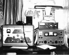 Amateur Radio, vintage station, ca. 1950s.
