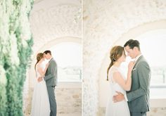 French couple by Petra Veikkola #film #contax645 #weddings