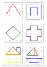 Image result for geoboard templates free