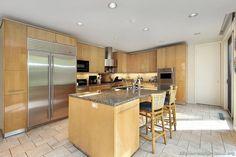 Modern Light Wood Kitchen Cabinets #61 (Kitchen-Design-Ideas.org)