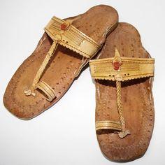 Sandales de l Inde,CUIR NATUREL PANTOUFLES DE JÉSUS Hippie Goa Rétro Vintage C