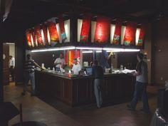 Sunset Private Club  Cabinets: LBC Design Cabinetry - Cornelius, NC