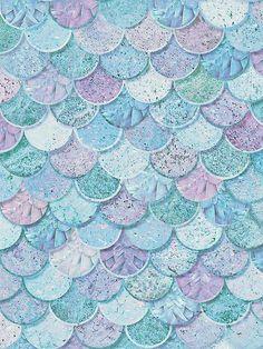 Mermazing Mermaid glitter behang Arthouse