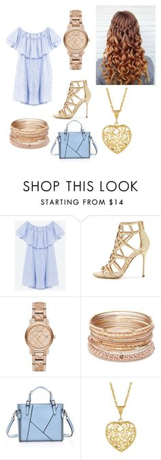 """""""Day/Night look"""" by kaeleigh-247 on Polyvore featuring Sergio Rossi, Burberry and Red Camel"""