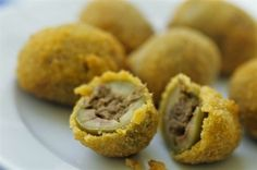 Aglio, Olio e Peperoncino: Olive Ascolane ~ Stuffed Olives