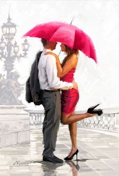 Kiss me in the rain...