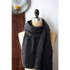 The beauty of New York City's remaining cobblestones inspired our knubbly, knobbily Cobblestone Scarf. Knit with three of our favorite Purl Soho yarns: rustic Flax Down, soft Alpaca Pure and polished Mulberry Merino. Knit in combination, the three yarns bring out the best in each other and create a fascinating texture that looks as if it were built brick by brick. The free pattern is on The Purl Bee! #purlbee #purlsoho