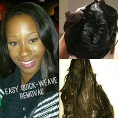 Quick weave mold hair dos pinterest quick weave and hair dos quick weave removal in minutes tutorial pmusecretfo Gallery