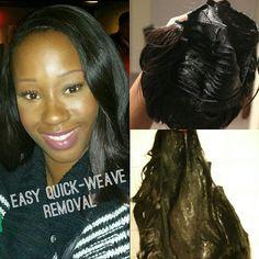 Quick weave mold hair dos pinterest quick weave and hair dos quick weave removal in minutes tutorial pmusecretfo Choice Image