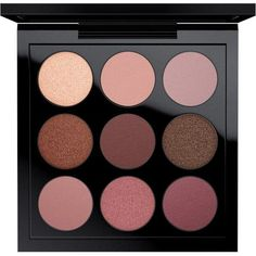 Eye Shadow x 9 Burgundy Times Nine MAC Cosmetics Official Site ($32) ❤ liked on Polyvore featuring beauty products, makeup, eye makeup, eyeshadow, palette eyeshadow, mac cosmetics eyeshadow and mac cosmetics