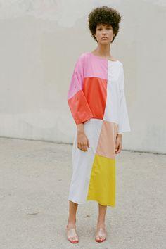 Exclusive Patchwork Dress #MaraHoffman