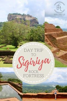 Everything you need to know about visiting Sigiriya Rock Fortress and Palace in Sri Lanka. A fascinating and well preserved ancient Asian city ruin! Top Travel Destinations, Amazing Destinations, Holiday Destinations, Boulder Garden, Breath Of Fresh Air, Plan Your Trip, Asia Travel, World Heritage Sites, Day Trip