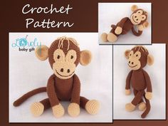 Amigurumi Pattern  Stuffed Animal Crochet by LovelyBabyGift