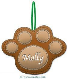 Free patterns for ornaments for our dog, cat and fish family members.