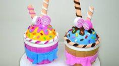 Resultado de imagen para cupcakes de pasta flexible
