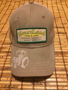 12cd4f634ea Hats · VTG John Deere Mesh SnapBack Cap Hat Trucker Heartland Farm  amp   Lawn Missouri  fashion