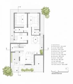 Bungalow House Design, Small House Design, Modern House Design, Duplex House, Duplex Floor Plans, House Floor Plans, Home Building Design, Home Design Plans, Architectural Floor Plans