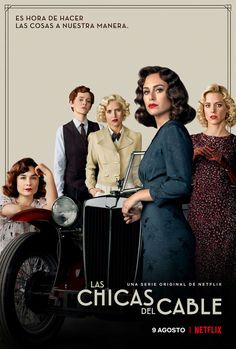 Las chicas del cable poster, t-shirt, mouse pad Films Netflix, Netflix Series, Series Movies, Movies And Tv Shows, Tv Series, Movie Theater, Movie Tv, Mejores Series Tv, Girl Posters