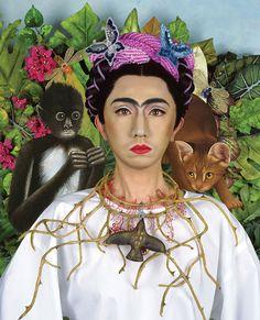 Yasumasa Morimura, An Inner Dialogue With Frida Kahlo (Collar of Thorns, 2001, Gary Tatintsian Gallery Inc.