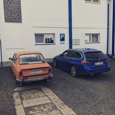 at #work #bmw #skoda #105 #managers #1982 vs. #2015