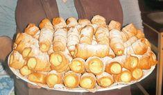 sněhové_trubičky_recept Pretzel Bites, No Bake Cake, Apple Pie, Deserts, Dairy, Bread, Cheese, Baking, Recipes