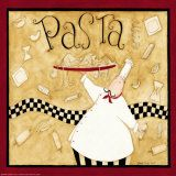 Kitchen Favorites: Pasta Poster di Dan Dipaolo
