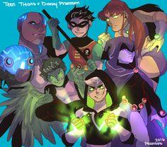 Danny Phantom + Teen Titans