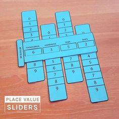 Place-value-math-learning-aid #mathtutor #mathtutoringideas