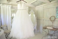 Maui Wedding Photographer Chris J. Evans captures the dress. Visit www.cjevansphotography.com  to see more.