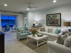 Blue Sky Living Room