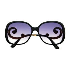 Designer style womens oversized sunglasses with large frame and swirled arms Sunglasses dimensions: Frame Height: Frame Width: Cheap Sunglasses, Cat Eye Sunglasses, Oversized Glasses, Optical Glasses, Eye Candy, Arms, My Style, Womens Fashion, Eyewear