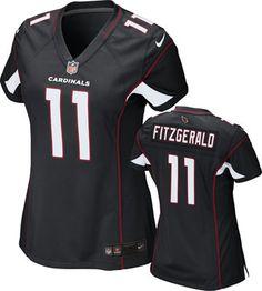NFL Arizona Cardinals Gridiron Grey (Larry Fitzgerald) Women's ...