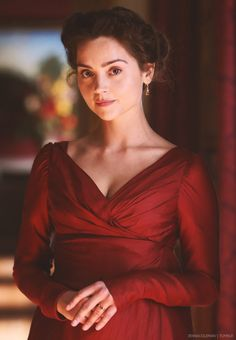 Jenna as Lydia Wickham in Death Comes to Pemberley...I can't wait to see this!! :)