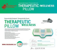 amazoncom celliant sleep therapeutic wellness anti snore memory foam pillow by visco love