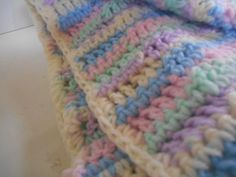 Hey all and welcome once again to a free crochet afghan pattern! I don't know why but it seems like I have been using a lot of color this year! So many rainbow blankets  I hope you guys like this one, super easy and repetitive pattern – makes it easier to watch tv while … … Continue reading →