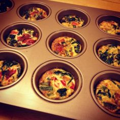 I Don't Go to the Gym: Veggie Egg White Morning Muffins