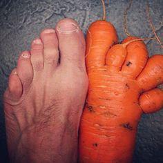 Big foot #potato | Wonky Food Funnies | Pinterest | Potatoes