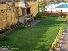 Jardines proyectados y construidos por ARTE VIVO con alguno de los elementos ya…